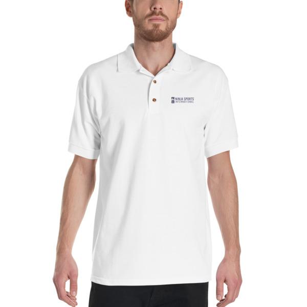 Embroidered Polo Shirt Ninja Sports International
